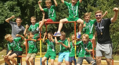E-Jugend der Handballer gewinnt das Turnier in Ollheim!