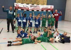 Handball F-Jugend geht mit Spaß in die Turniersaison