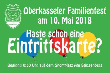 Großes Familienfest in Oberkassel