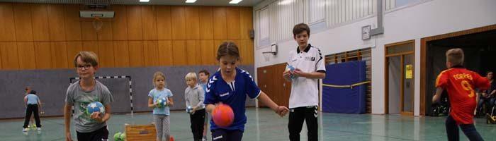 Handball Stadtmeisterschaft der Grundschulen