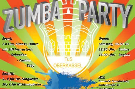Zumba Party am Sa 30. März