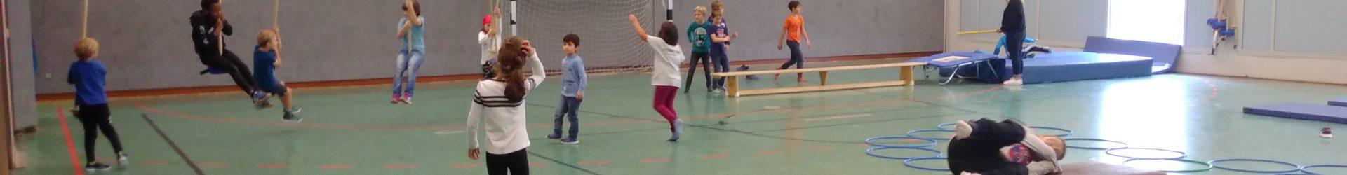 TuS Oberkassel bewegt OGS-Kids
